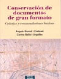 Conservacion documentos gran formato