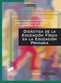 Didactica de la educacion fisica en la educacion primaria