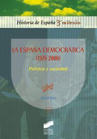 España democratica (1975-2000), la