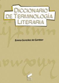 Diccionario de terminologia literaria
