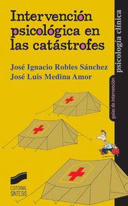 Intervencion psicologica en las catastrofes