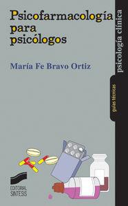 Psicofarmacologia para psicologos