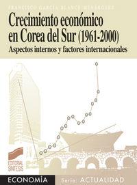 Crecimiento economico en corea del sur (1961-2000)
