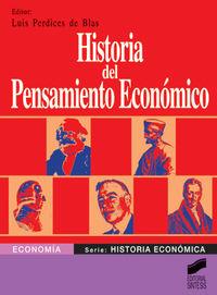 Historia del pensamiento economico economia 1082