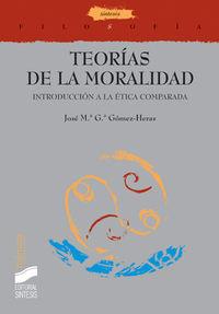 Teorias de la moralidad