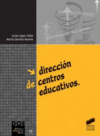 Direccion de centros educativos