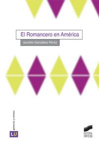 Romancero en america, el