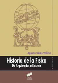 Historia de la fisica de arquimedes a eistein