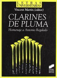Clarines de pluma