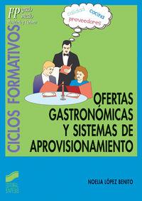 Ofertas grastronomicas y sistemas de aprovisionami