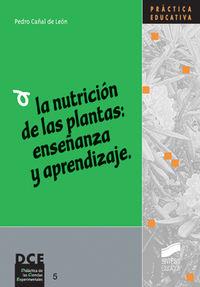 Nutricion de las plantas, la