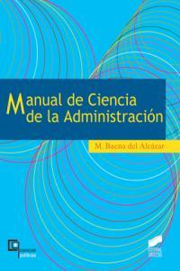 Manual de ciencias de la administracion