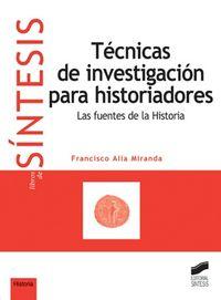Tecnicas de investigacion para historiadores