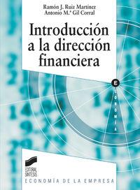 Introduccion a la direccion financiera