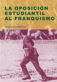 Oposicion estudiantil al franquismo, la