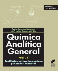Equilibrios en fase homogenea y metodos analiticos