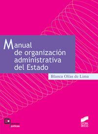 Manual de organizacion administrativa del estado