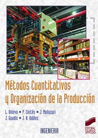 Metodos cuantitativos y organizacion