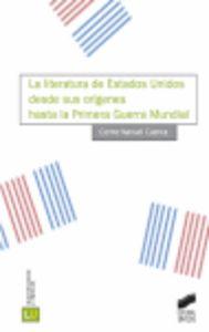 Literatura de estados unidos desde sus origenes hasta la pri
