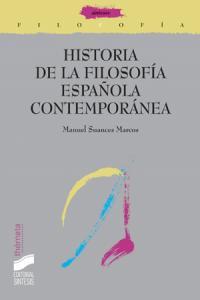 Historia de la filosofia española contemporanea