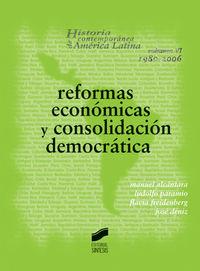 Reformas economicas y consolidacion democratica