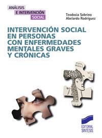 Intervencion social en personas con enfermedades mentales gr