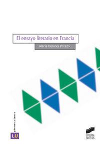 Ensayo literario en francia, el