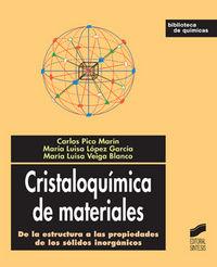 Cristaloquimica de materiales