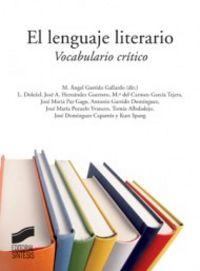 Lenguaje literario, el