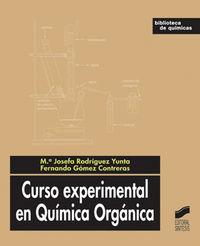 Curso experimental en quimica organica
