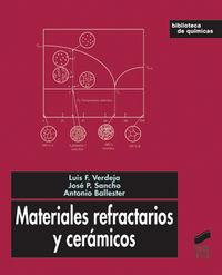 Materiales refractarios y ceramicos