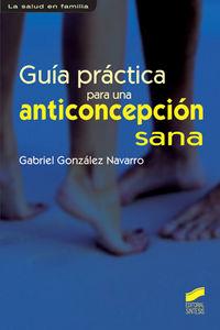 Guia practica para una anticoncepcion sana
