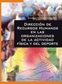 Direccion de recursos humanos en las organizaciones de la ac