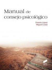 Manual de consejo psicologico