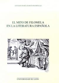 Mito de filomela en la literatura española,el