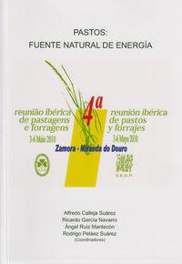 Pastos, fuente natural de energia : 4ª reunion iberica de pa