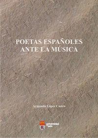 Poetas españoles ante la musica