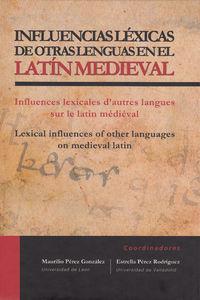 Influencias lexicas de otras lenguas en el latin medieval