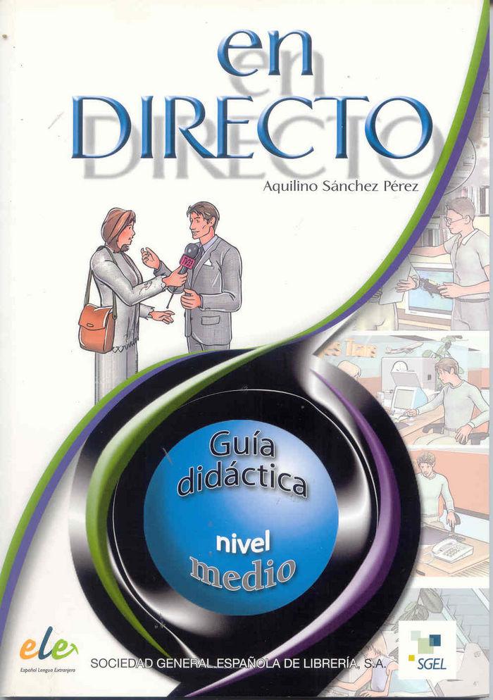 En directo 2 (profesor) medio