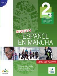 Nuevo español en marcha 2 alumno cd