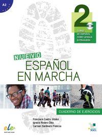 Nuevo español en marcha 2 ejercicios cd