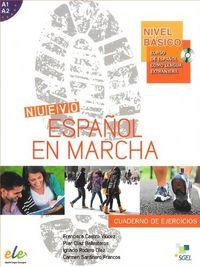 Nuevo español en marcha basico ejercicios y cd