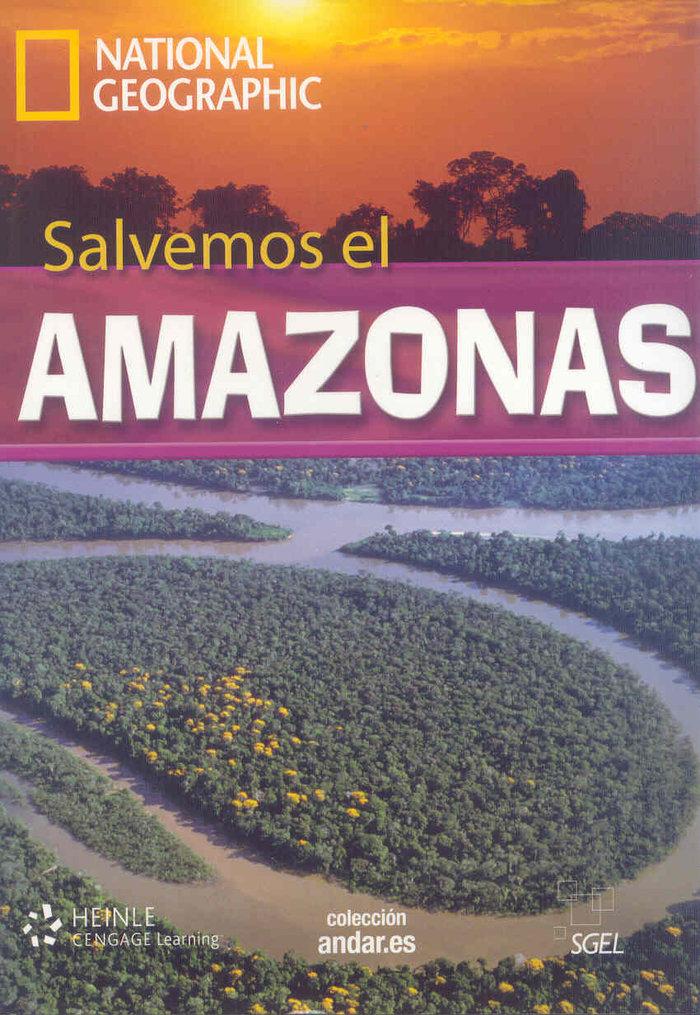 Salvemos el amazonas  (+dvd)