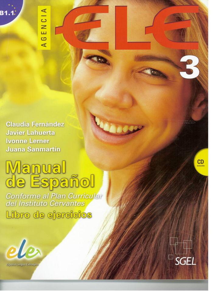 Agencia ele 3 (libro ejercicios+cd) (b1.1)