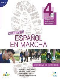 Nuevo español en marcha 4 ejercicios cd