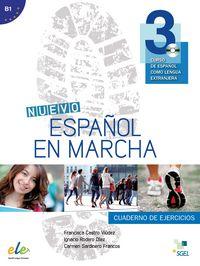 Nuevo español en marcha 3 ejercicios cd