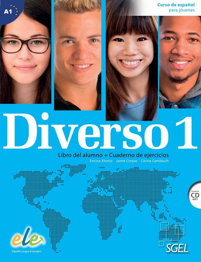 Diverso 1 (libro del alumno+cuaderno de ejercicios+cd) (a1)