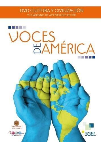Voces de america (dvd + cuad.ejercicios en pdf)