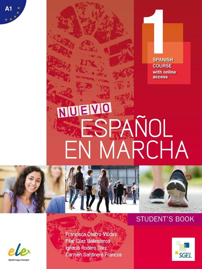 Nuevo espaÑol en marcha 1, libro del alumno