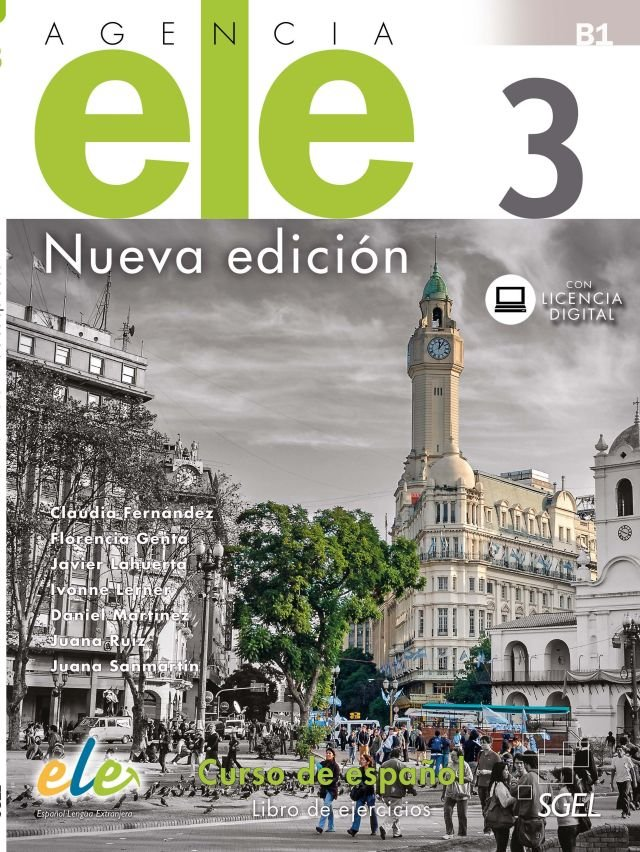 Agencia ele 3 nueva edicion libro de ejercicios